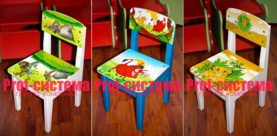 Как раскрасить детский столик своими руками 90
